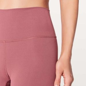 Lululemon Luxtreme Wunder Under Crop So Merlot